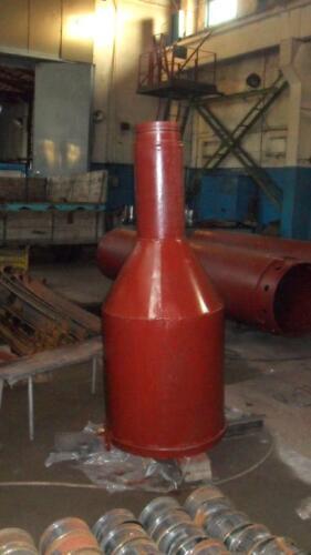 Бетонолитная воронка под ø труб 945 мм.